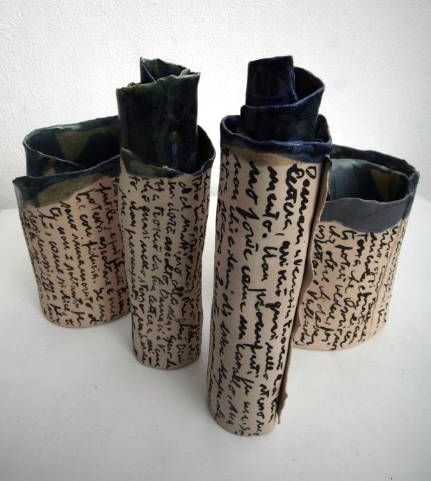 Gabriella Sacchi_Collezione_Lettera per te-vasi