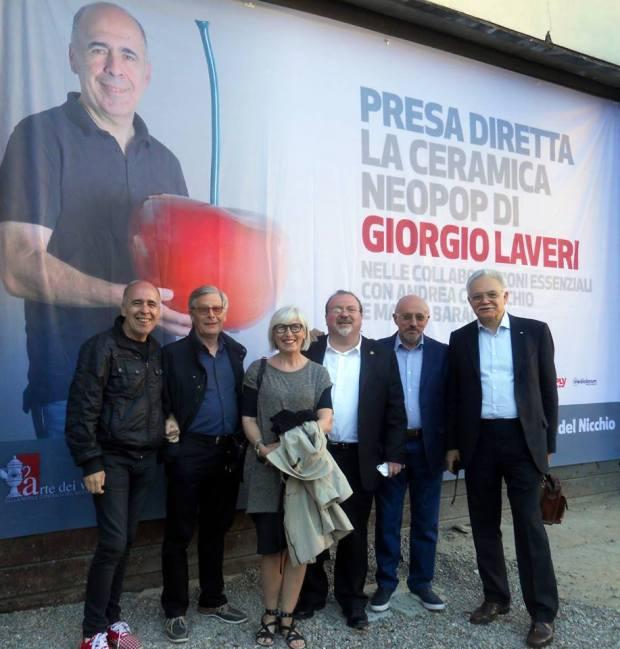 2016 Giorgio Laveri, Andrea Comacchio, Silvia Imperiale, Carlo Pizzichini, Mauro Baracco e Giovanni Mirulla