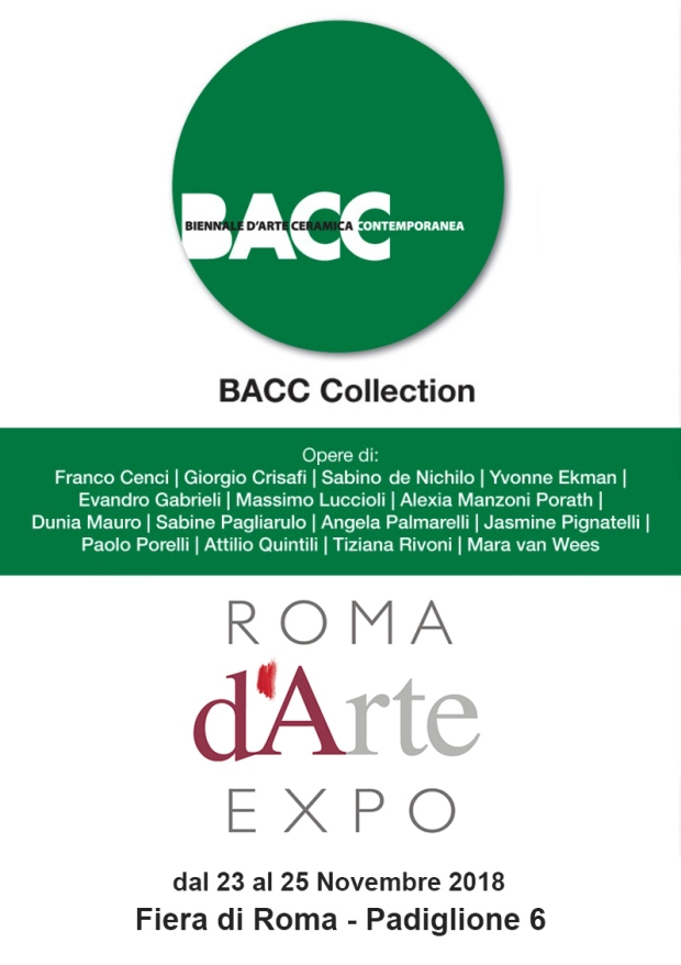 6b5ab79258 BACC, la Biennale d'arte ceramica contemporanea, torna con BACC ...