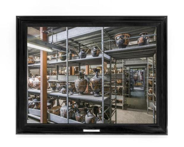 Mauro Fiorese, Treasure Rooms del Museo Archeologico Nazionale - Napoli, 2015